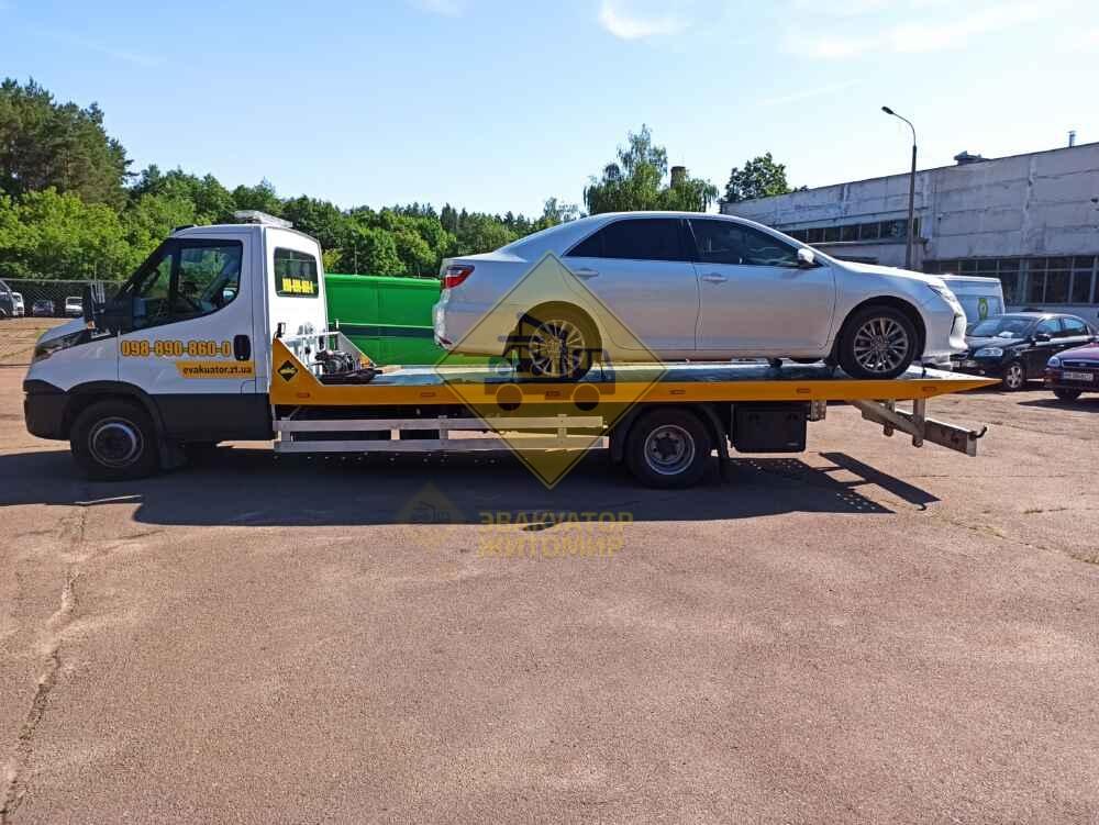 Эвакуатор для легкового автомобиля Житомир